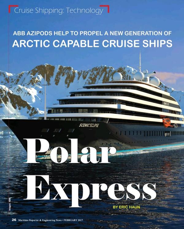 Maritime Reporter Magazine, page 26,  Feb 2017