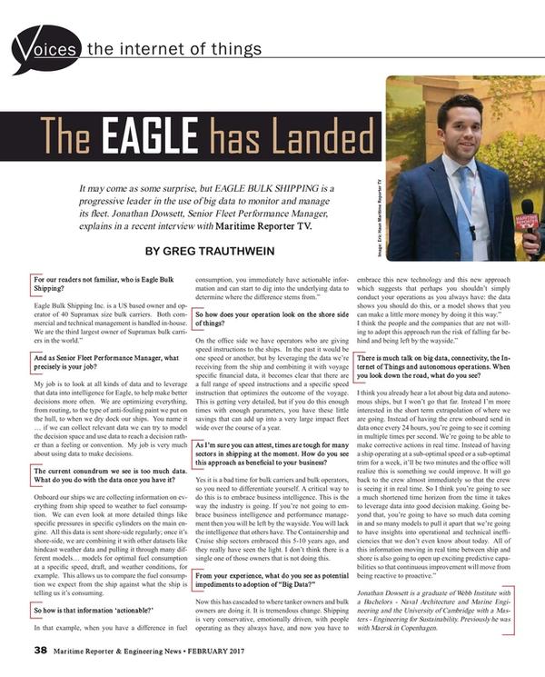 Maritime Reporter Magazine, page 38,  Feb 2017