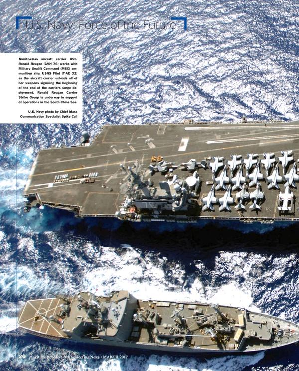 Maritime Reporter Magazine, page 20,  Mar 2017