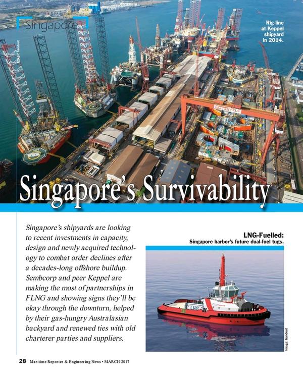 Maritime Reporter Magazine, page 28,  Mar 2017