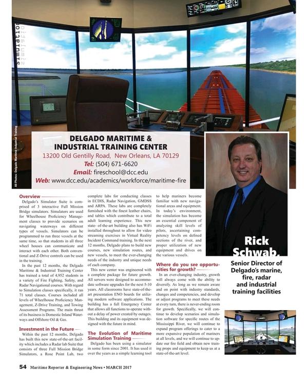 Maritime Reporter Magazine, page 54,  Mar 2017