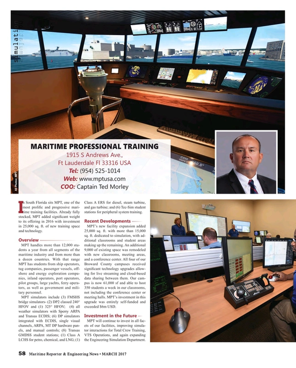 Maritime Reporter Magazine, page 58,  Mar 2017