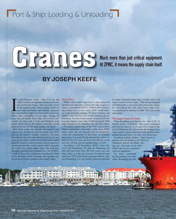 Maritime Reporter Magazine, page 70,  Mar 2017