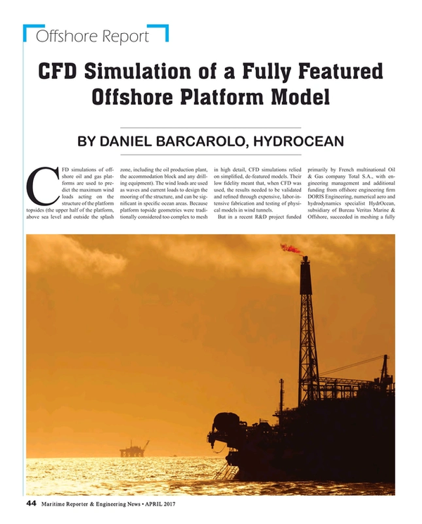 Maritime Reporter Magazine, page 44,  Apr 2017