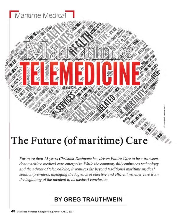 Maritime Reporter Magazine, page 48,  Apr 2017