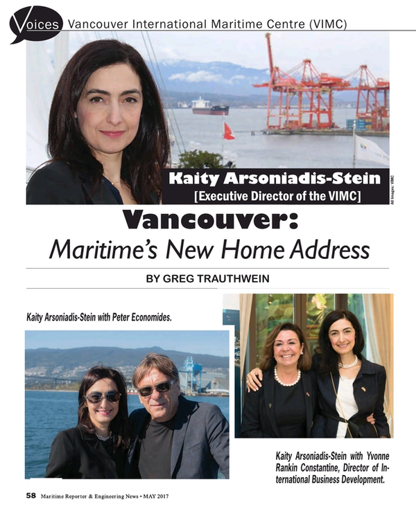 Maritime Reporter Magazine, page 58,  May 2017