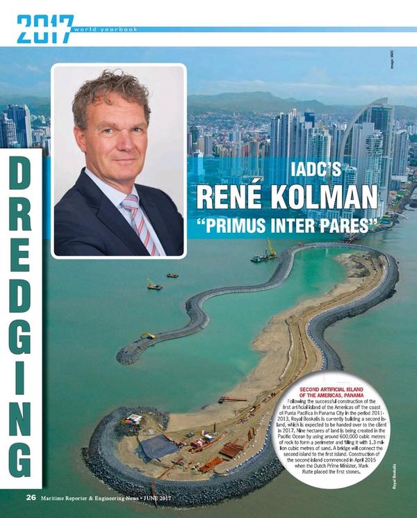 Maritime Reporter Magazine, page 26,  Jun 2017