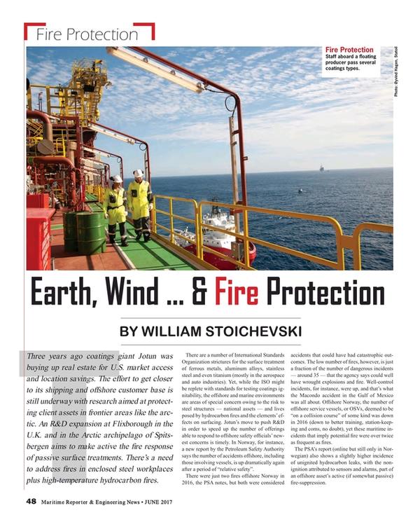 Maritime Reporter Magazine, page 48,  Jun 2017