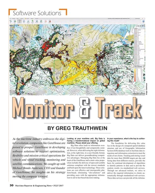 Maritime Reporter Magazine, page 30,  Jul 2017