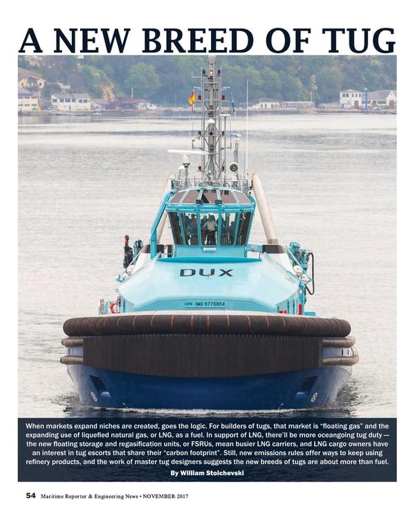 Maritime Reporter Magazine, page 54,  Nov 2017