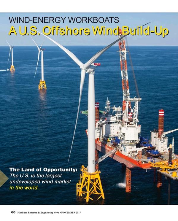 Maritime Reporter Magazine, page 60,  Nov 2017
