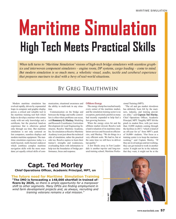 Maritime Reporter Magazine, page 57,  Mar 2018