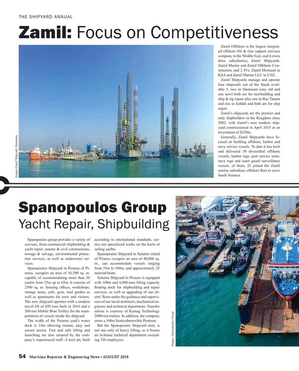 Maritime Reporter Magazine, page 54,  Aug 2018