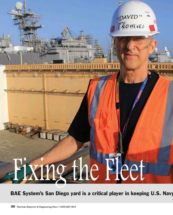 Maritime Reporter Magazine, page 30,  Jan 2019