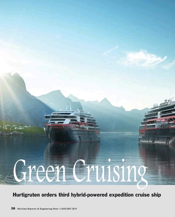 Maritime Reporter Magazine, page 38,  Jan 2019
