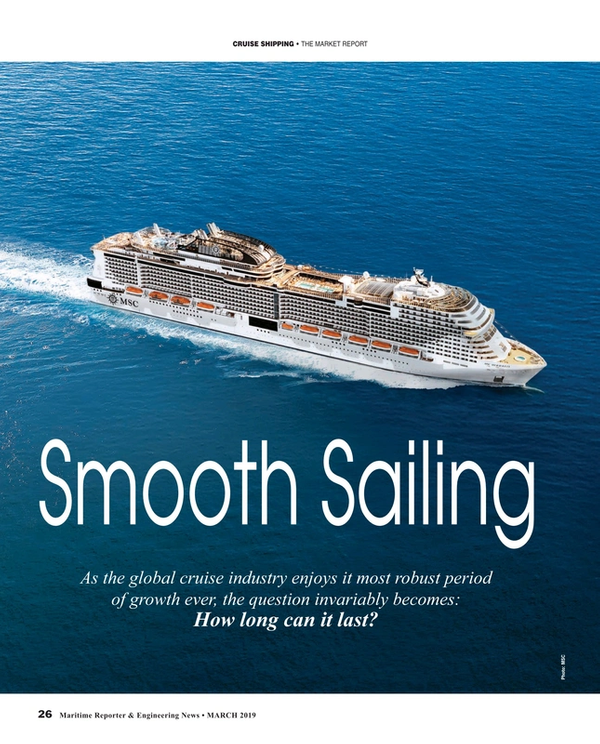 Maritime Reporter Magazine, page 26,  Mar 2019