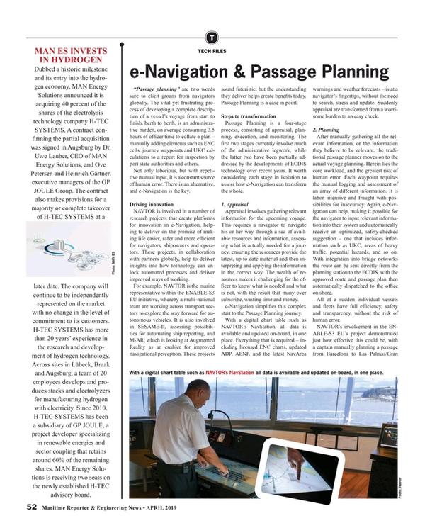 Maritime Reporter Magazine, page 52,  Apr 2019
