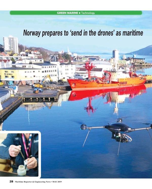 Maritime Reporter Magazine, page 28,  May 2019