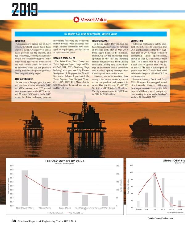 Maritime Reporter Magazine, page 38,  Jun 2019