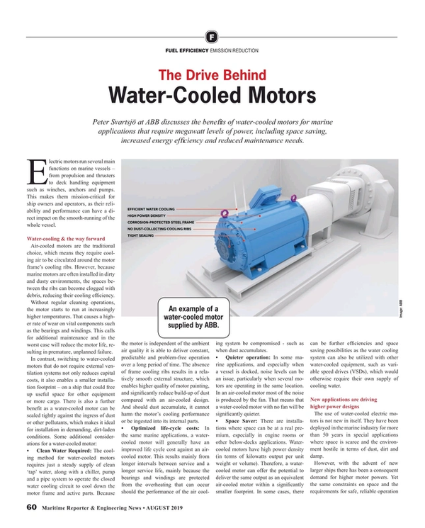 Maritime Reporter Magazine, page 60,  Aug 2019