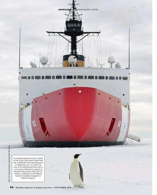 Maritime Reporter Magazine, page 44,  Nov 2019