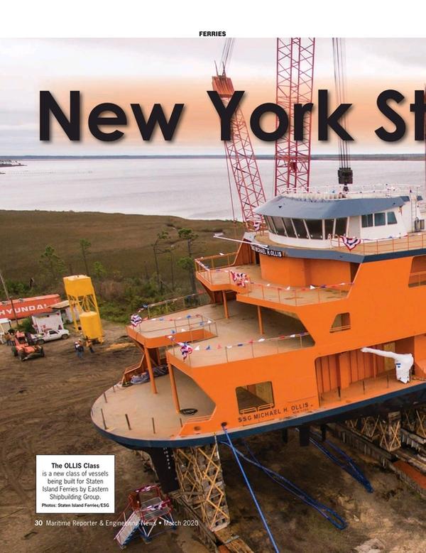 Maritime Reporter Magazine, page 30,  Mar 2020
