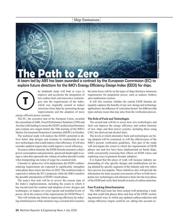 Maritime Reporter Magazine, page 24,  Jul 2020