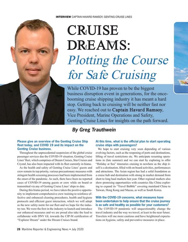 Maritime Reporter Magazine, page 28,  Jul 2020