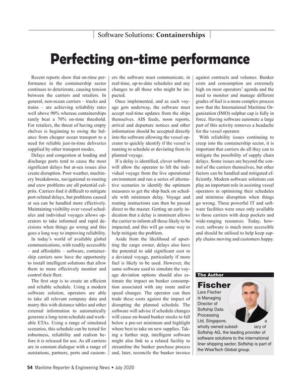 Maritime Reporter Magazine, page 54,  Jul 2020