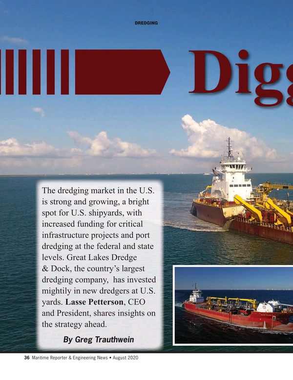 Maritime Reporter Magazine, page 36,  Aug 2020
