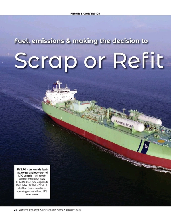 Maritime Reporter Magazine, page 24,  Jan 2021