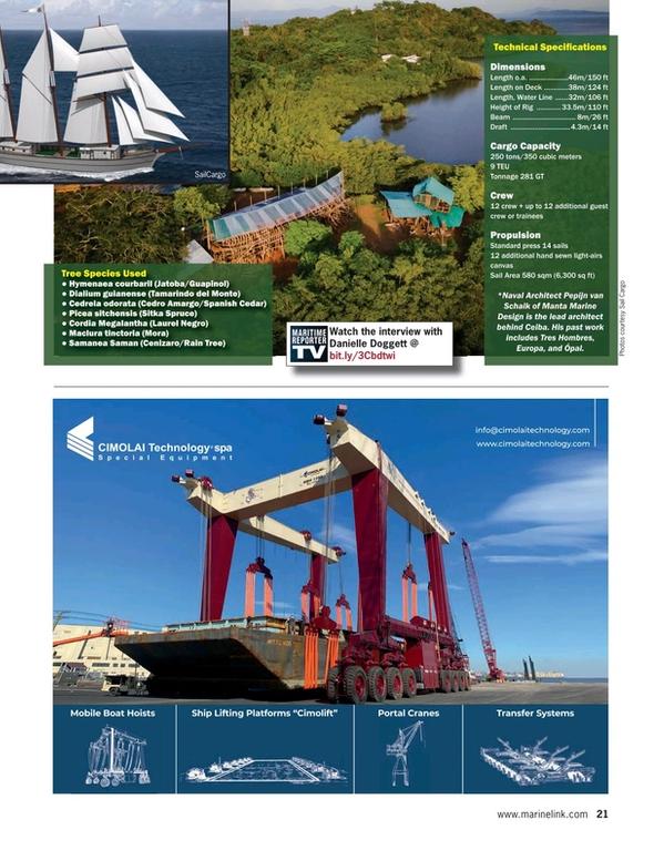 Maritime Reporter Magazine, page 21,  Aug 2021