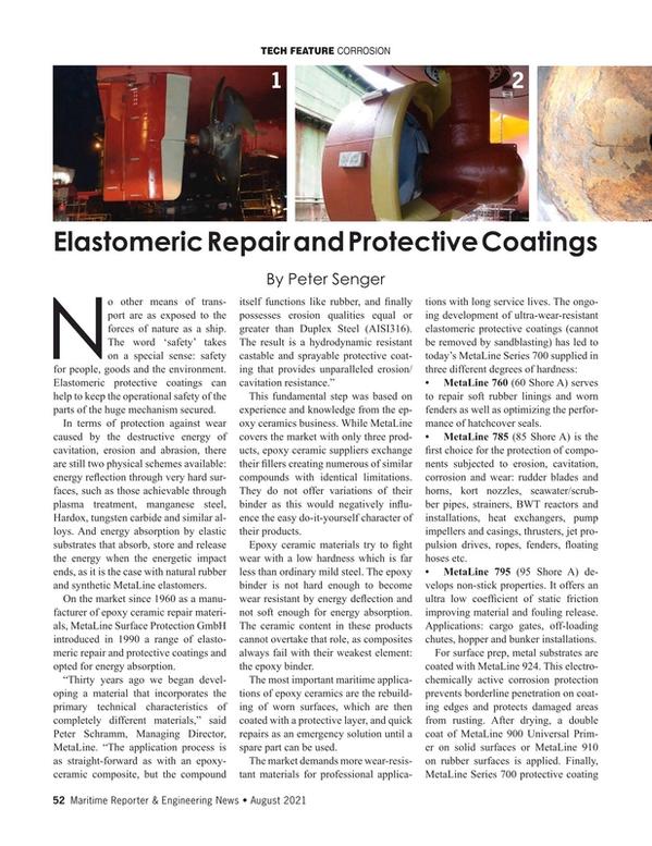 Maritime Reporter Magazine, page 52,  Aug 2021