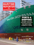 Maritime Reporter Magazine Cover Oct 2020 - Shipping & Port Annual