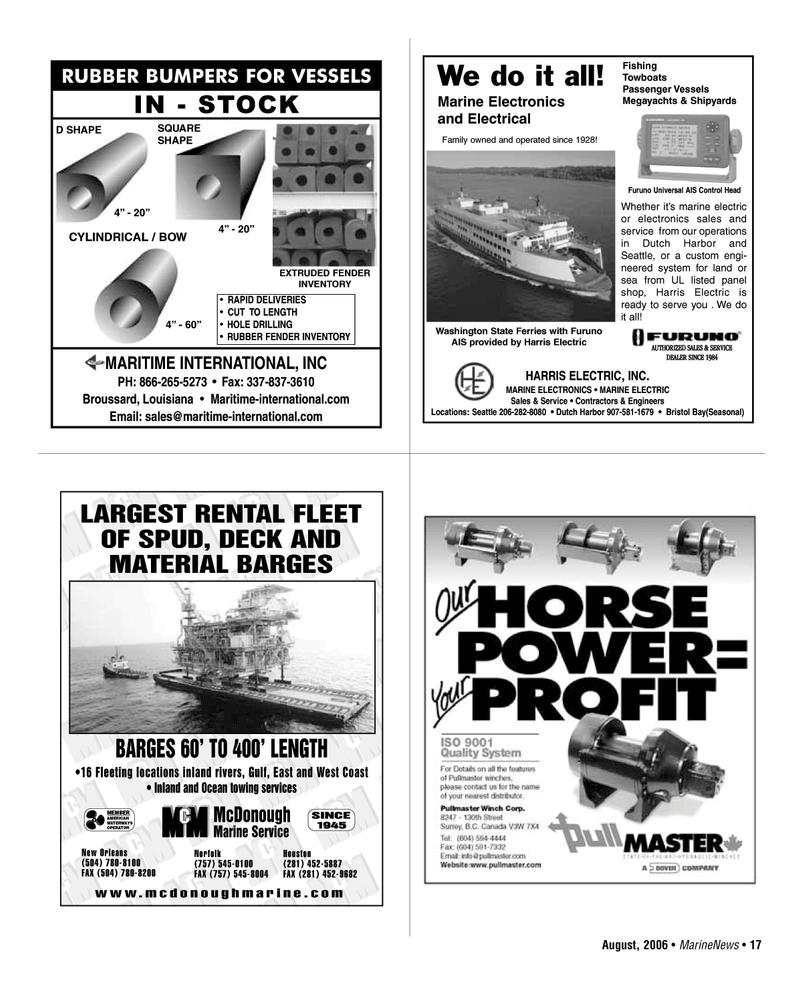 West Coast, Marine News Magazine August 2006 #17