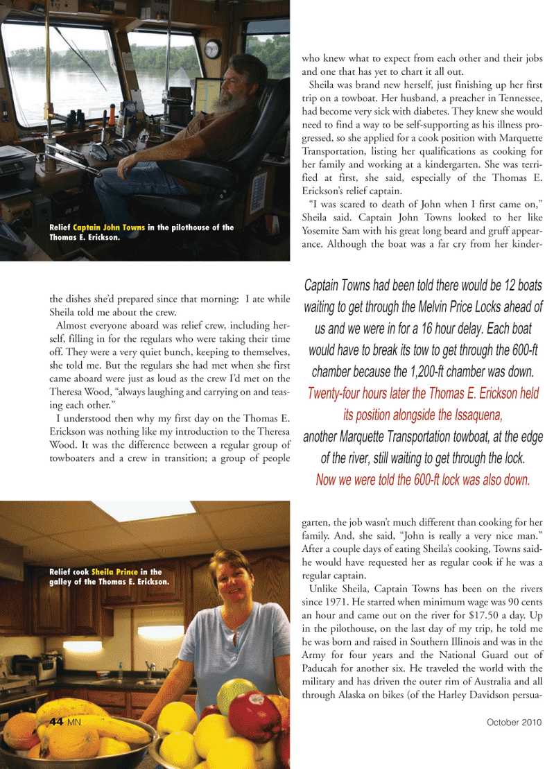 Marine News Magazine, page 44,  Oct 2010 Tennessee