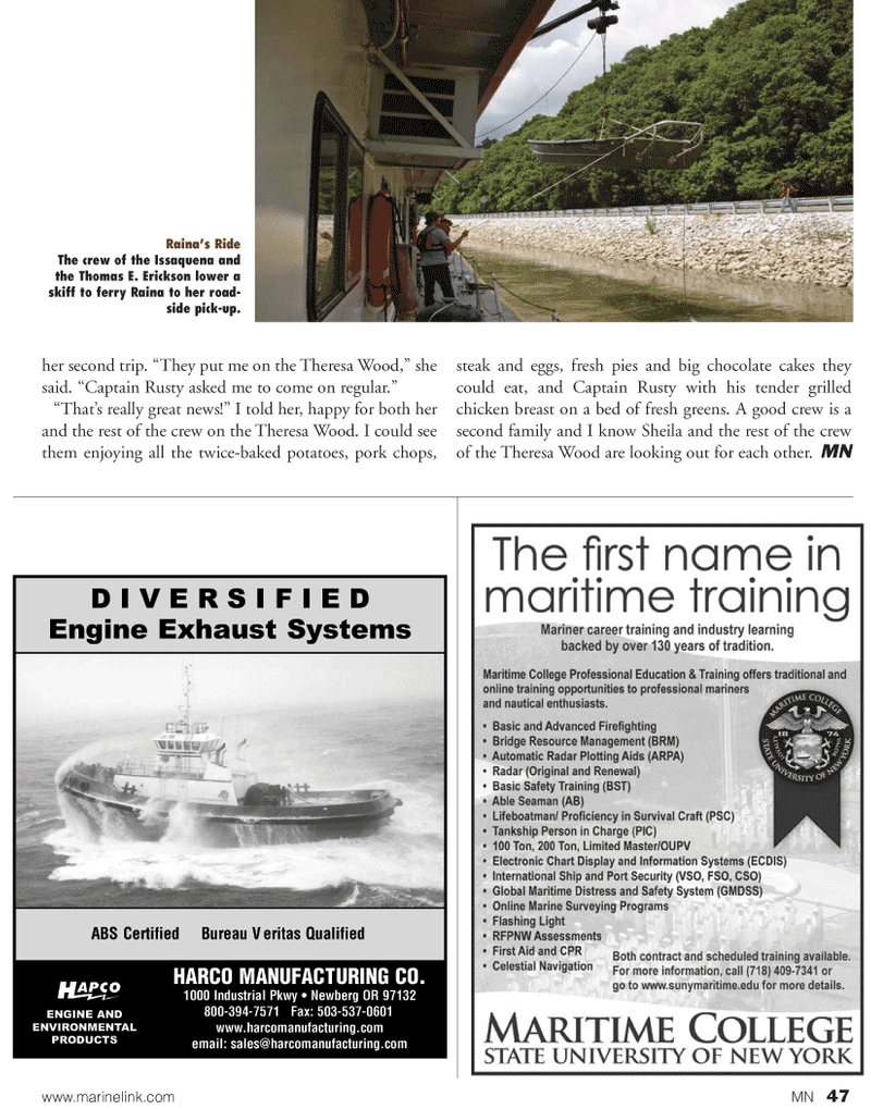 Marine News Magazine, page 47,  Oct 2010 Rusty