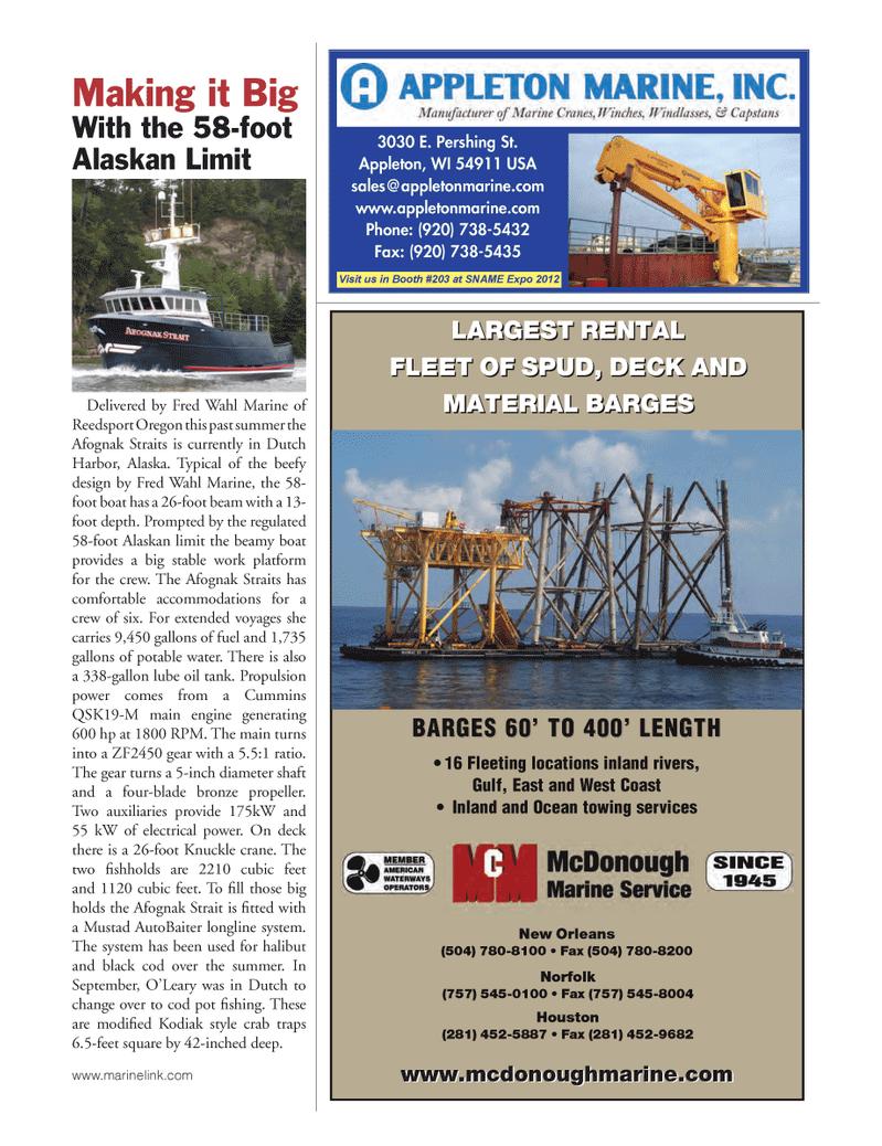West Coast, Marine News Magazine October 2012 #29
