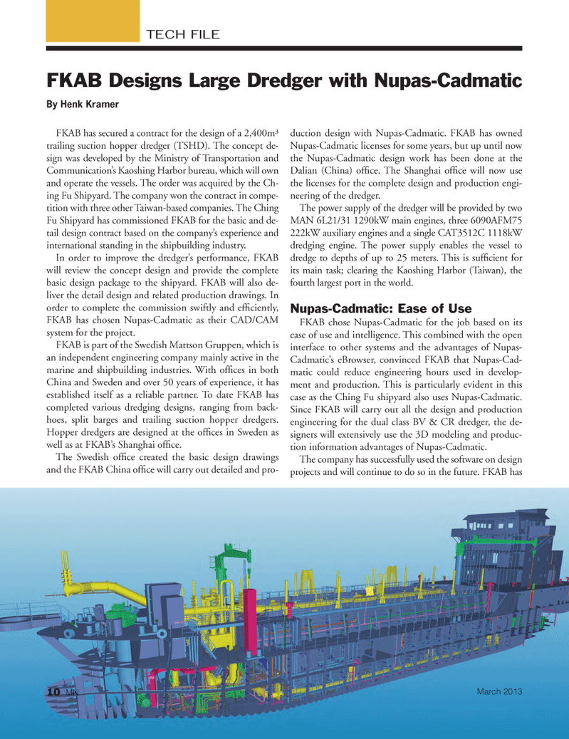 Marine News Magazine, page 10,  Mar 2013 Ministry of Transportation and Communication?s Kaoshing Harbor
