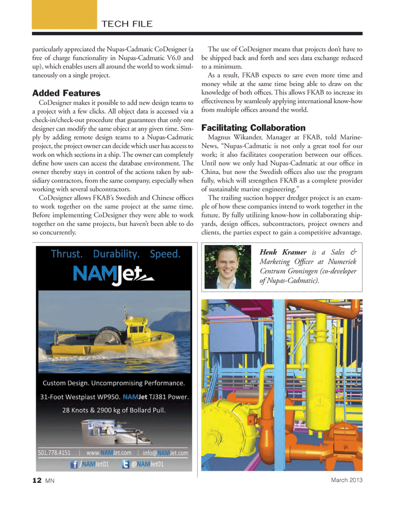 Marine News Magazine, page 12,  Mar 2013 China