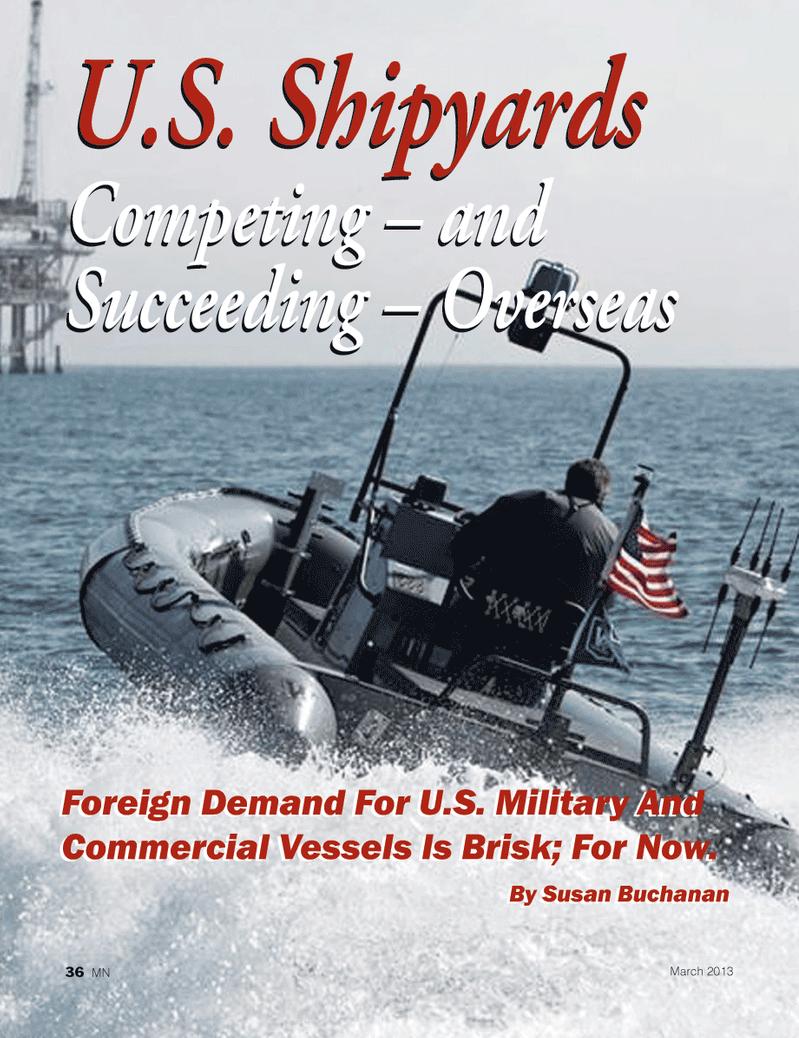 Marine News Magazine, page 36,  Mar 2013 United States