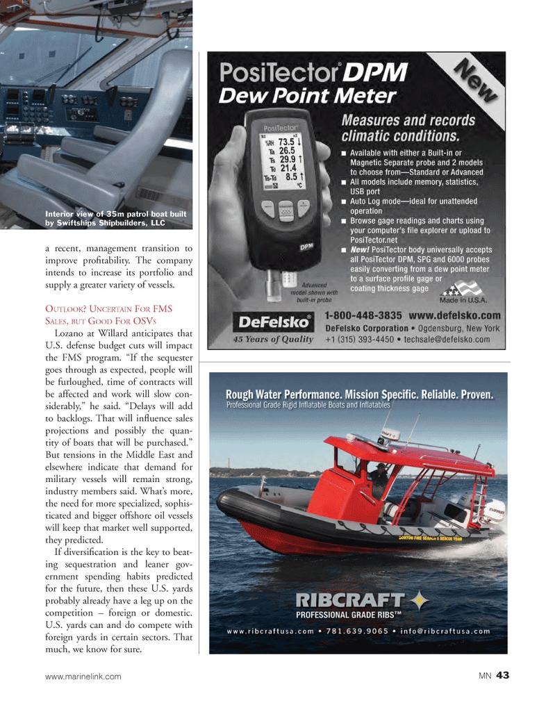 Marine News Magazine, page 43,  Mar 2013 United States