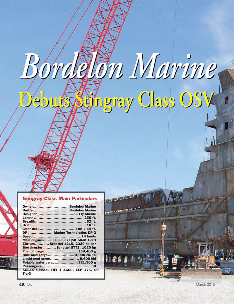 Marine News Magazine, page 48,  Mar 2013 Cummins