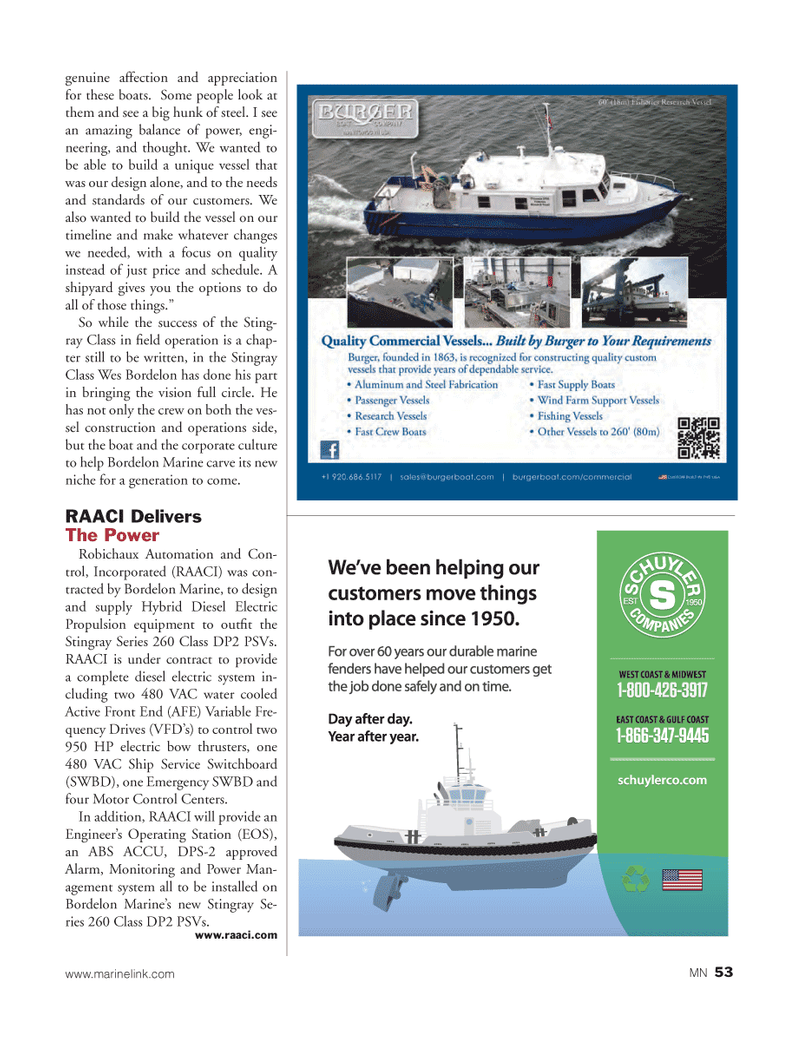 Marine News Magazine, page 53,  Mar 2013 s Operating Station