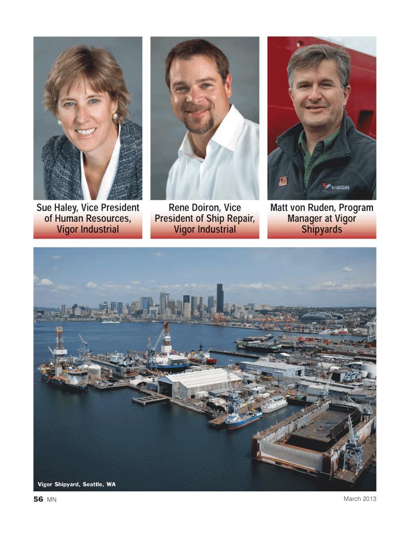 Marine News Magazine, page 56,  Mar 2013 Matt von Ruden
