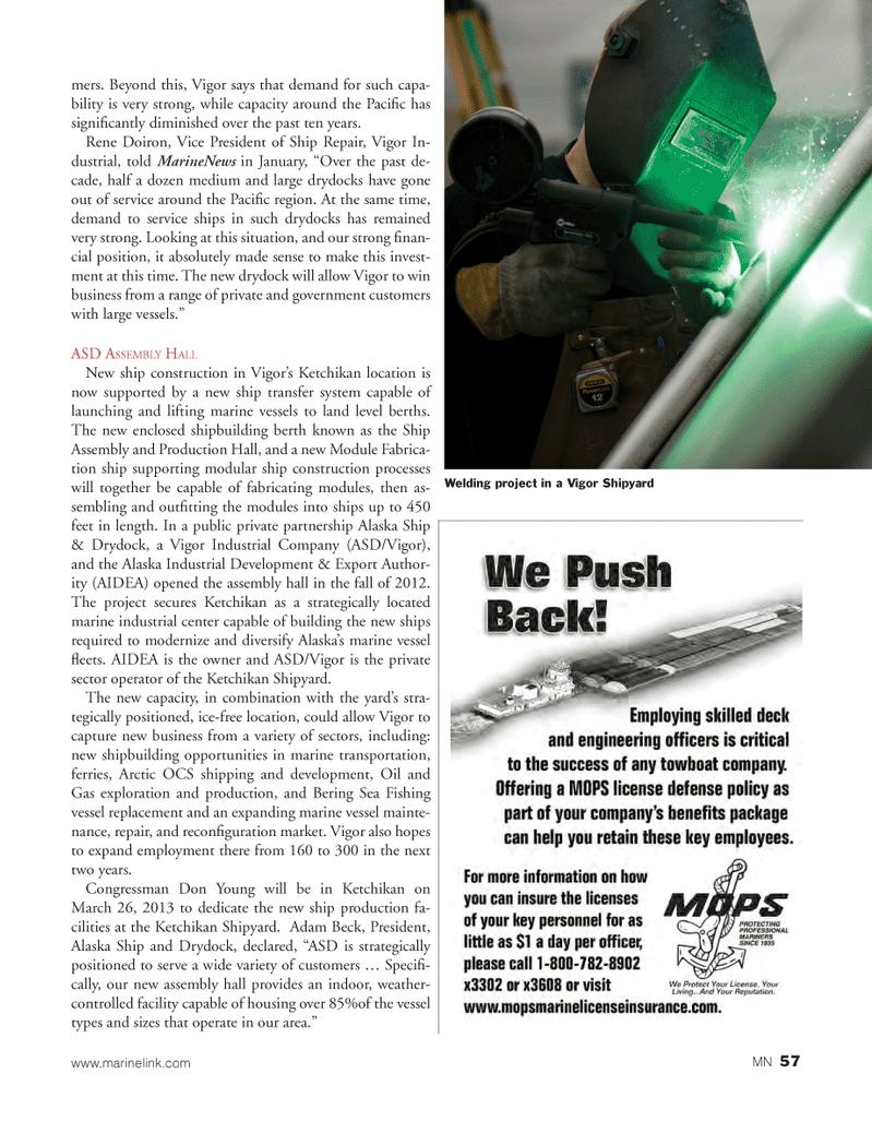 Marine News Magazine, page 57,  Mar 2013