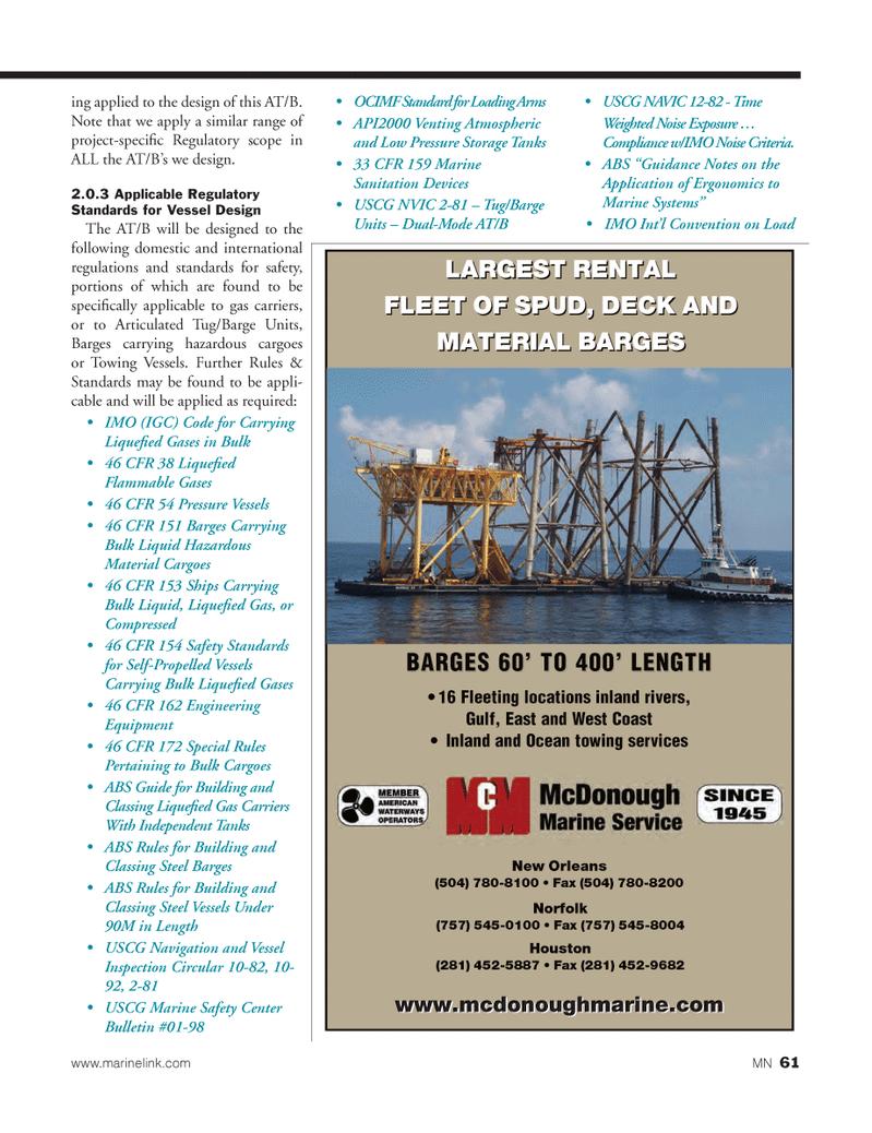 Marine News Magazine, page 61,  Mar 2013 United Nations