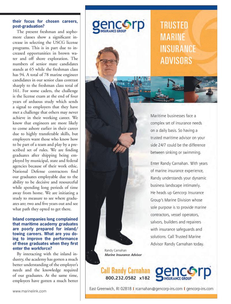 Marine News Magazine, page 15,  Oct 2013