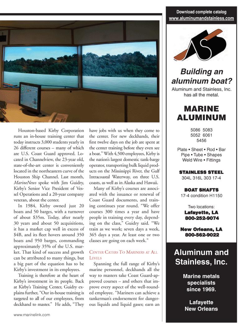 Marine News Magazine, page 33,  Oct 2013