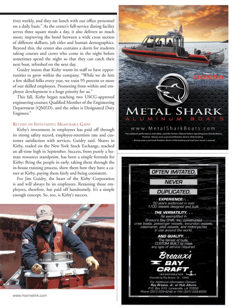 Marine News Magazine, page 35,  Oct 2013 Jim Guidry